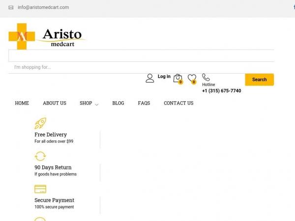 aristomedcart.com