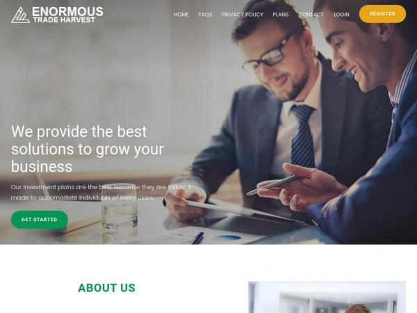 enormoustradeharvest.com