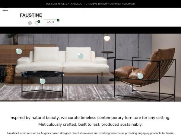 faustinefurniture.com