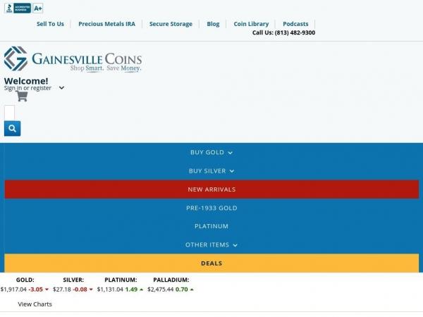 gainesvillecoins.com