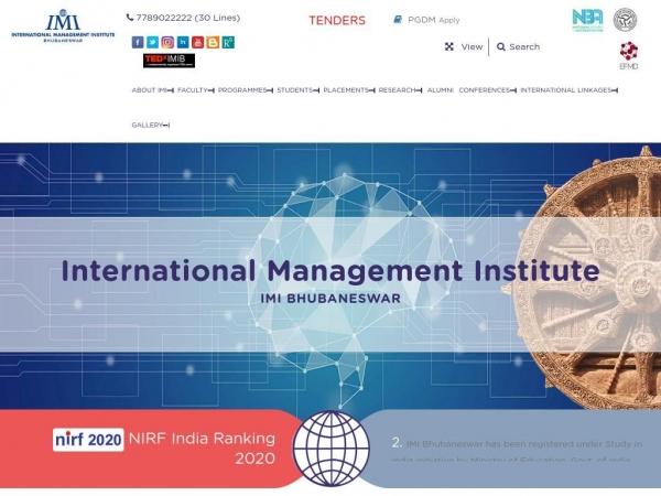 imibh.edu.in