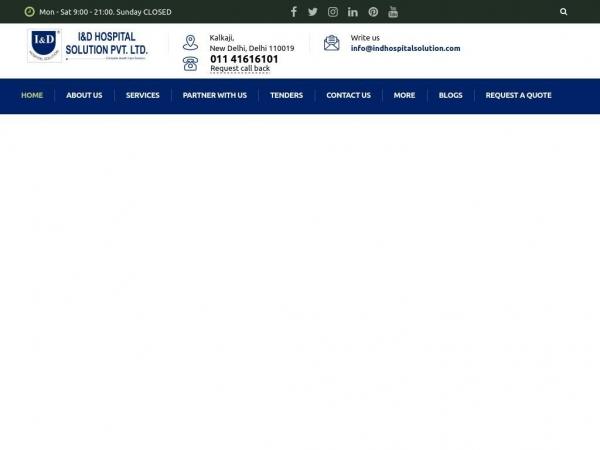 indhospitalsolution.com