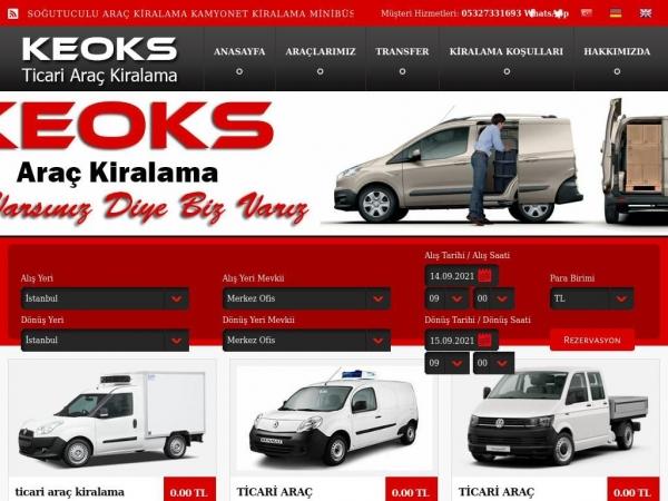 keoksrentacar.com