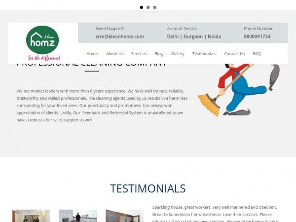 kleanhomz.com