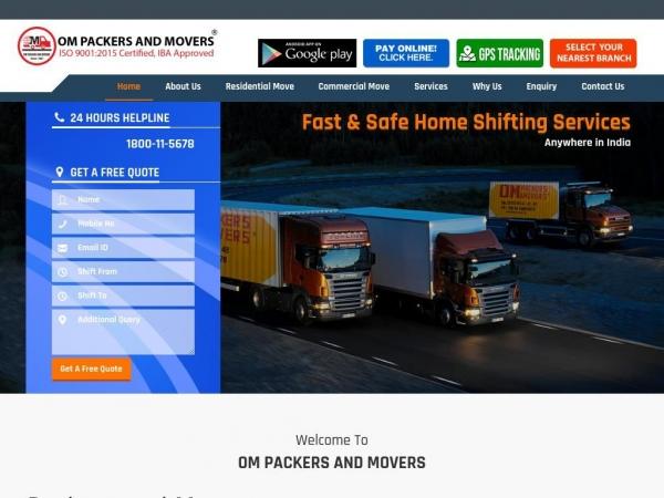 ompackersindia.com