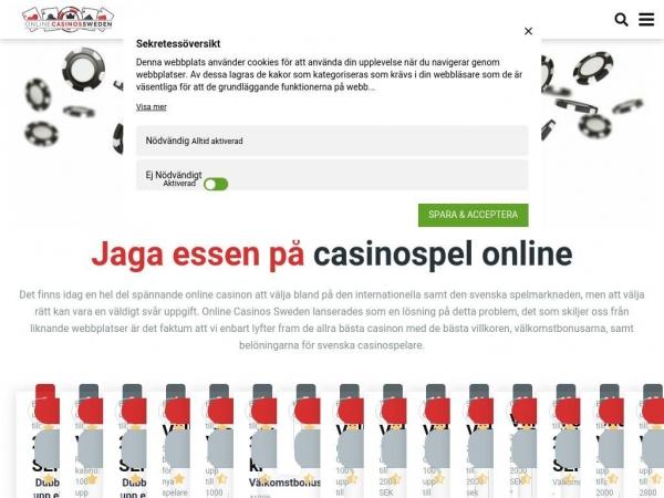 onlinecasinossweden.com