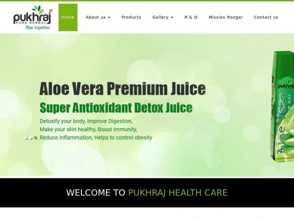 pukhrajhealthcare.com