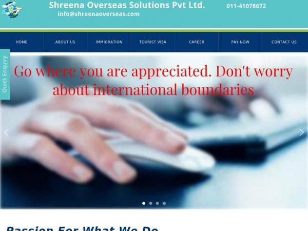 shreenaoverseas.com