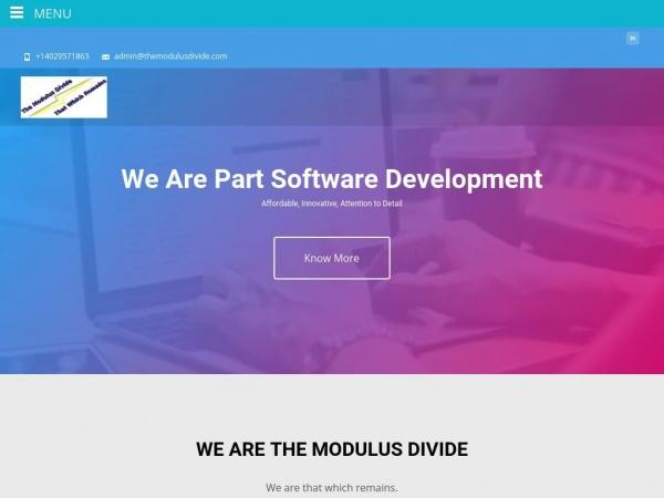 themodulusdivide.com